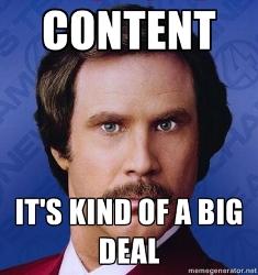 content importance